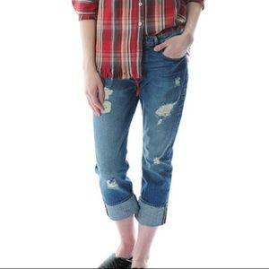 FRAME Denim Le Grand Garcon jeans in Inglewood